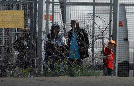 Арапске избеглице у Француској