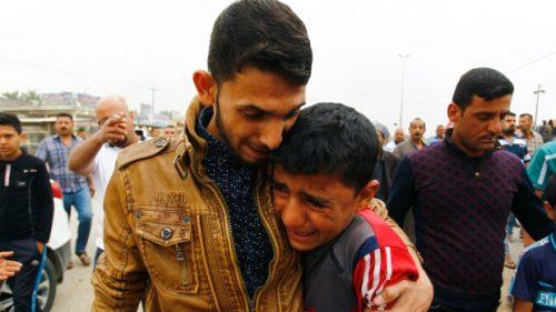 Ирак после аутомобила бомбе 1
