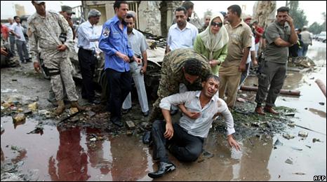 Ирак после аутомобила бомбе 2