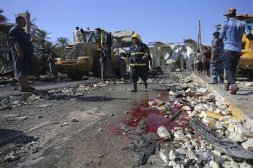 Ирак после аутомобила бомбе 3