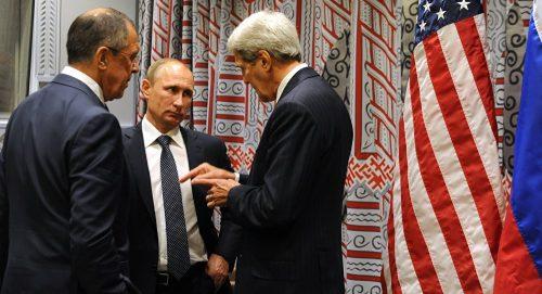 Лавров Путин Кери