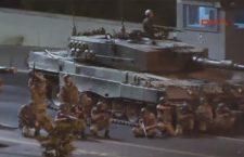 Снимак напада турске војске на цивиле у Истанбулу (видео)