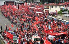 """Ердоганове присталице """"окупирале"""" Келн: Ми смо Немачка (ФОТО)"""