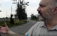 Миодраг Зарковић на улицама Донбаса (видео)
