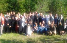 Мисионарско крштење у катакомбном манастиру Свих Српских Светитеља у Аустрији (Беч – Гринбах)