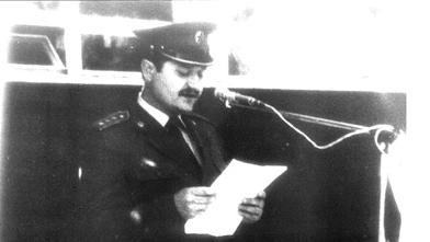 У име части – говор мајора Милана Тепића