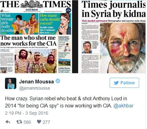 """""""МОЈ ОТМИЧАР САДА РАДИ ЗА ЦИА"""" Исповест новинара отетог у Сирији који је на видео снимку препознао човека који га је отео"""