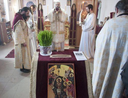 Богојављење у манастиру Свете Тројице Кули
