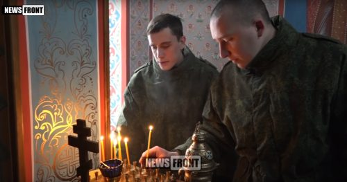 У СЕДИШТУ НАРОДНЕ МИЛИЦИЈЕ ЛНР ОДРЖАН ПАРАСТОС ЗА ПУКОВНИКА АНАШЋЕНКА