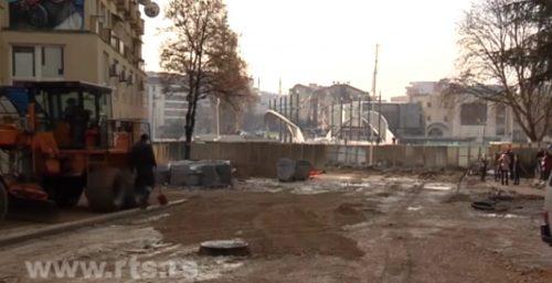 Почела изградња потпорне конструкције у Косовској Митровици