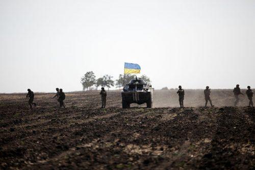 Украјинска војска пешадија БВП
