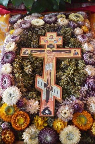 Крстопоклона недеља у манастиру Светог Симеона Мироточивог у Дежеви