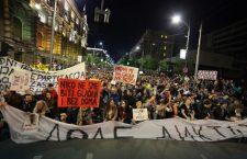 """Завршен десети дан """"Протеста против диктатуре""""; наставак после Ускрса"""