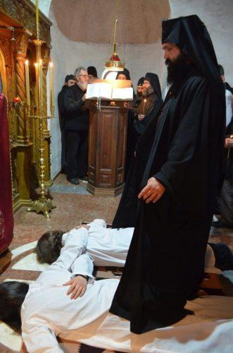 Монашење и прослава празника Цвети у манастиру Пресвете Богородице Тројеручице у Мушветама
