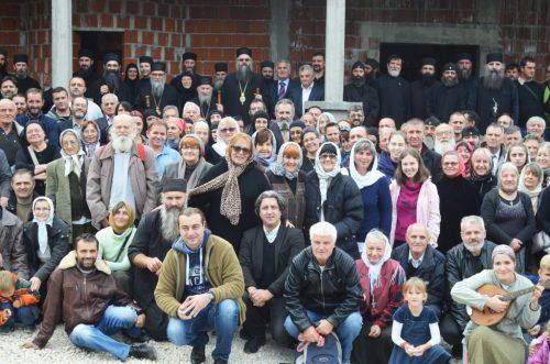 Обавештење о првој Литургији у манастиру Светих Отаца I Васељенског Сабора у Лелићу