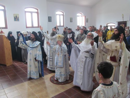 Недеља о слепом у манастиру Светог Архангела Михаила у Нишу