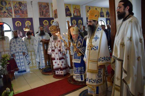 Манастир Светог Јустина у Барајеву свечано прославиo своју храмовну славу