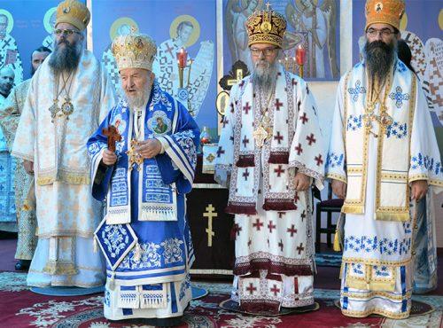 Обавештење о првој Литургији у манастиру Св. Стефана Деспота српског у Крњеву