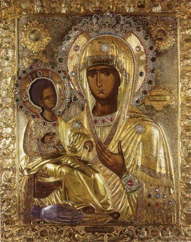Икона Пресвете Богородице Тројеручице