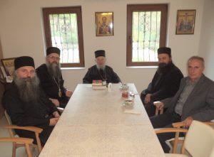 Хорепископ Максим: Посещение православной братии Греции и Афона, Епархии рашко-призренской в изгнании