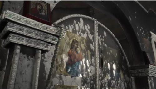 Вандали покушали да спале цркву у Кијеву