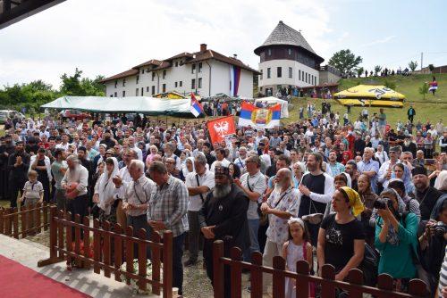 Послание Шестого Молитвенного Церковно-народного Собора в монастыре святителя Николая Мирликийского, что в Лознице, близ Чачка, 3 июня 2018 года