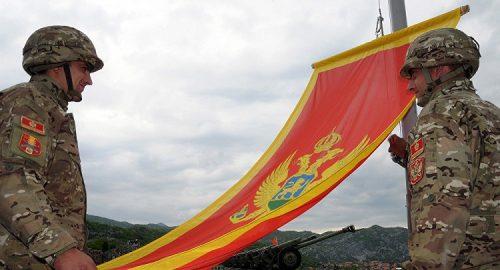 """КНИН: Црногорски официр присуствовао прослави """"Олује"""" под барјаком """"За дом спремни"""""""