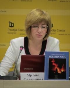 Ања Филимонова о актуелном тренутку на Космету