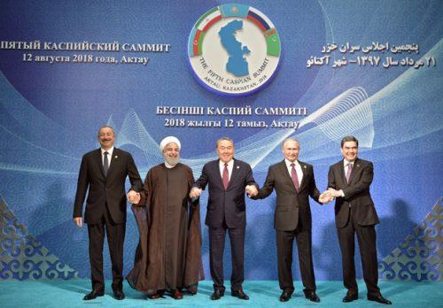 Пет земаља дели Каспијско море