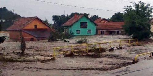 Хаос у Жагубици услед пуцања нелегалне бране, саграђене због мале хидро-електране?