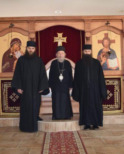 Пастирска посета Епископа Артемија своме манастиру Сједињеним америчким државама