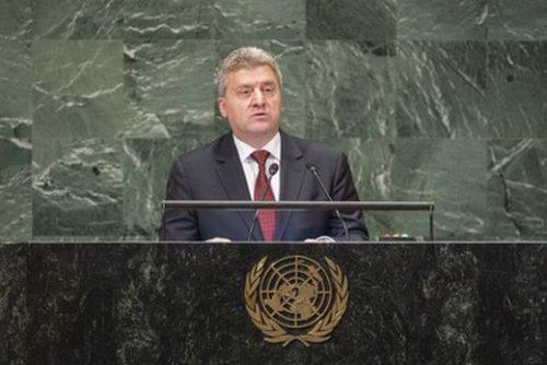 Ђорђе Иванов у УН позвао грађане Македоније да бојкотују референдум: Промена имена омча око врата и флагрантно кршење суверенитета земље