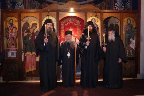 Монашење у манастиру Светог Јована Крститеља у Љуљацима