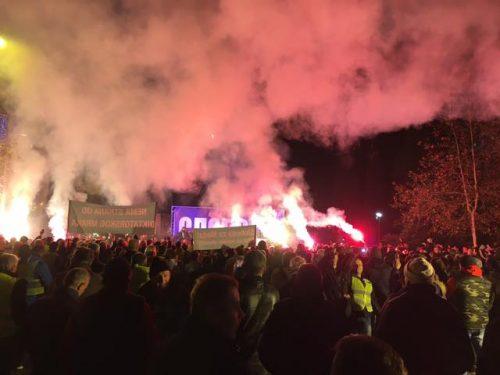 Од сриједе протести широм Црне Горе: Запалићемо бакље слободе