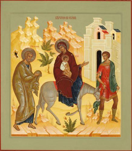Прича o божанском Младенцу Христу