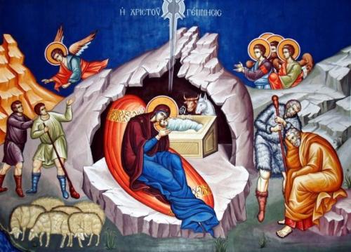 Распоред богослужења за Божићне празнике 2018. године