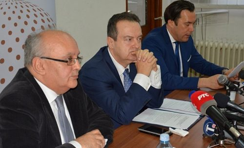 ДАЧИЋ: Разграничење је званични предлог Београда за решење косовског питања