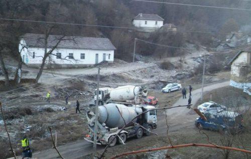 Експлозија на градилишту мини хидроелектране у Ракити