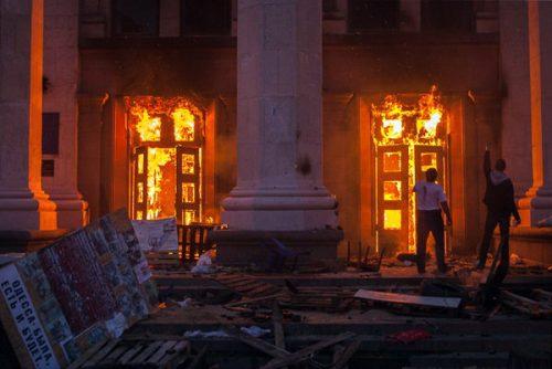 МСП Русије: Пет година од злочина украјинских радикала који су у Дому синдиката у Одеси подметнули пожар у којем је спаљено најмање 50 особа, а на стотине повређено