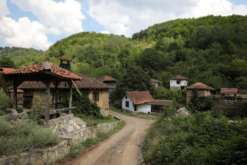 """Abandoned houses stand in the empty village of Repusnica, near the south-eastern town of Knjazevac, Serbia, August 15, 2016. REUTERS/Marko Djurica        SEARCH """"DEPOPULATION"""" FOR THIS STORY. SEARCH """"WIDER IMAGE"""" FOR ALL STORIES."""