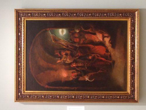 БАКЉАДА КРОЗ СТАМБОЛ КАПИЈУ, УЉЕ НА ПЛАТНУ, 1859. НАРОДНИ МУЗЕЈ У БЕОГРАДУ /ФОТО: М. СТЕФАНОВИЋ/