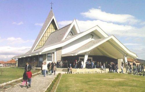Католичка црква у Новом Селу Бегову код Вучитрна