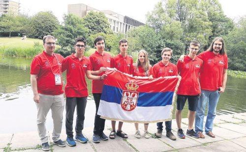 Млади српски математичари међу десет најбољих на свету