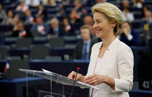 Урсула фон дер Лајен наследила Јункера на челу Европске комисије