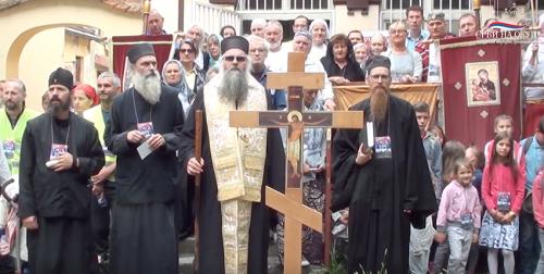 Веруј Србине и бори се као часни преци – Гучевска Литија 2019.