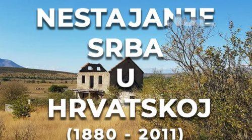 Нестајање Срба у Хрватској