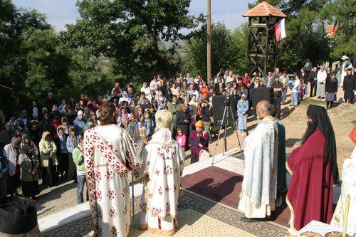 Беседа Владике Артемија на Усековање главе Св. Јована Крститеља 2004. године у манастиру Сочаница