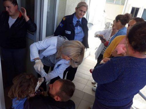 Протести против изградње МХЕ у Штрпцу: Десетине повређених, укључујући и децу