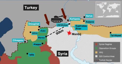 Курди се нагодили са Дамаском: Сиријска регуларна армија ушла у Манбиџ, Табку и Тел-Тамр