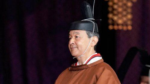 На церемонији устоличења у Царској палати, Нарухито и званично постао цар Јапана